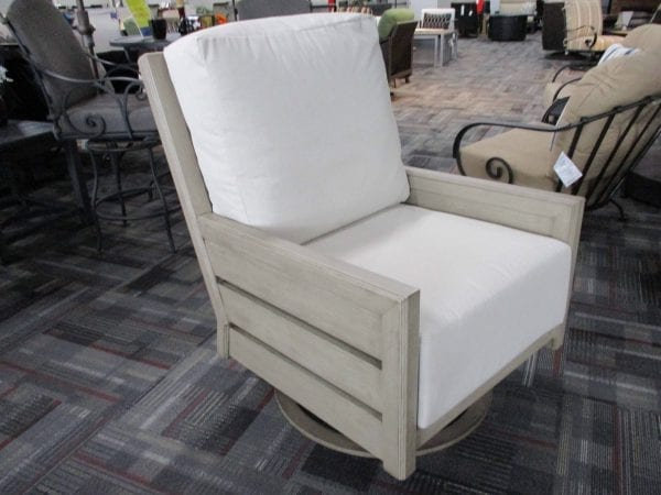 outdoor swivel rocking chair