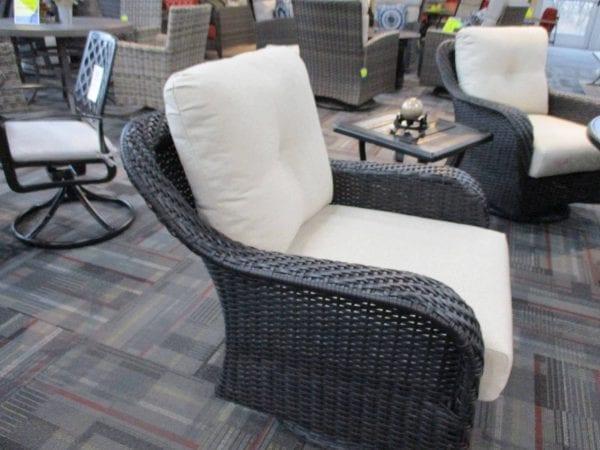 outdoor patio gliding chair