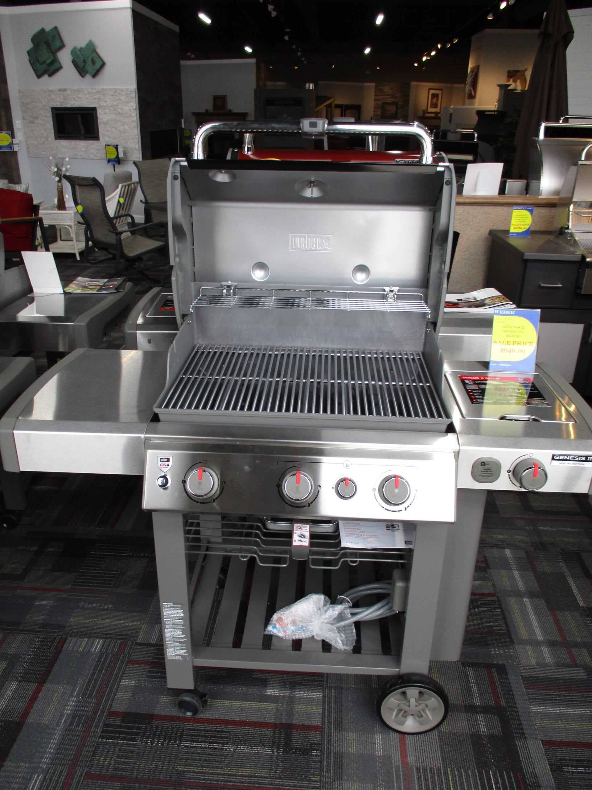 Open Genesis SE330 Grill